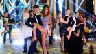 Puttin' on the Ritz was the opening group dance in 'Dancing with the Stars' on Sunday night on RTÉ One. Photograph: Cyril Byrne/The Irish Times