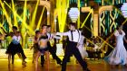A routine to an Irving Berlin classic kicks off 'Dancing with the Stars' on RTÉ One. Photograph: Cyril Byrne/The Irish Times