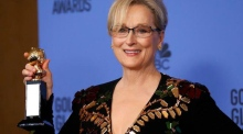 Meryl Streep lambasts Donald Trump in Golden Globes speech