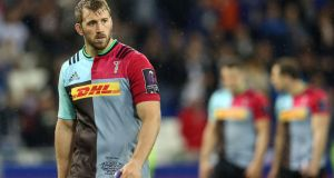 England and Harlequins flanker Chris Robshaw is expected to be out of competitive action for around 12 weeks. Photograph: Adam Davy/PA Wire