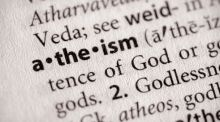 Most atheists believe gods exist only as ideas in the minds of humans. Most atheists are open to new evidence that we might be mistaken. File photograph: iStockPhoto/Getty