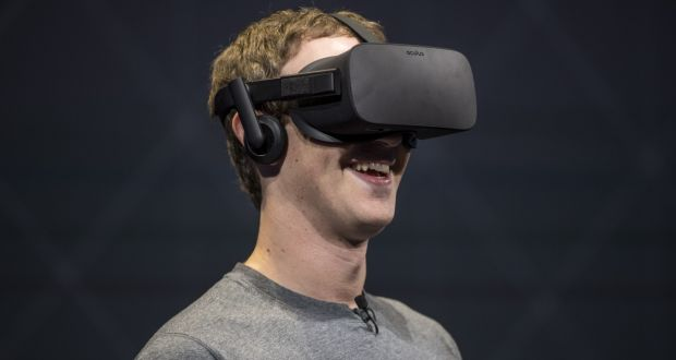 1ca8108fecb1 Mark Zuckerberg with an Oculus Rift virtual reality headset  Facebook is  accused of buying Oculus