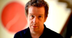 "Kevin Barry: ""Theatre is the house of anxiety. And I think I'm a f**king natural for that."" Photograph: Cyril Byrne"