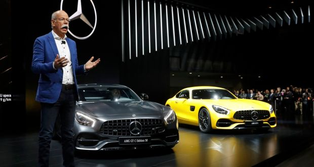 MercedesBenz Overtakes BMW In The Luxury Market - Mercedes benz car show