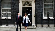 Less than equal partners? Martin McGuinness and Arlene Foster. Photograph: Dylan Martinez/Reuters