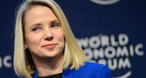 Marissa Mayer is among six directors who plan to leave Yahoo board. Photograph: EPA