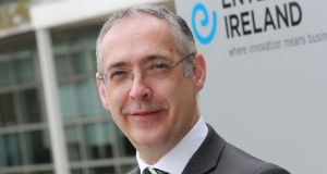 Enterprise Ireland research and innovation divisional manager Gearóid Mooney.