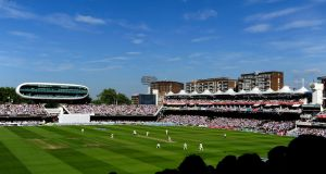Ireland will play England at Lords in May. Photograph: Getty