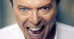 David Bowie in the video for Lazarus, from his final album Blackstar