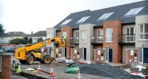 Official estimates for dwelling completions are based on ESB meter connection data, which typically overcount the level of new builds. Photograph: Cyril Byrne