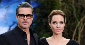 Actors Brad Pitt and Angeline Jolie will use a private judge in their divorce. File photograph: Facundo Arrizabalaga/EPA