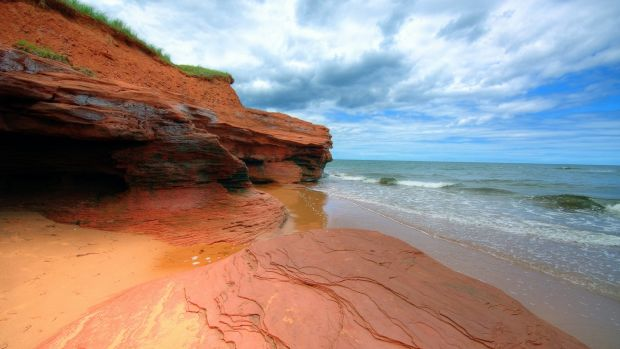 Red sands, Prince Edward Island, Canada