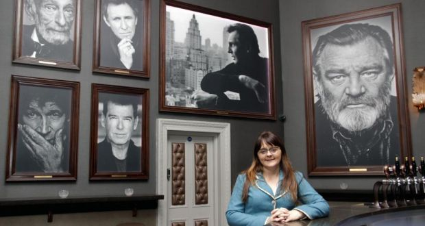 Divine Design managing director Gwen Kenny in the Portrait Bar at  the Olympia Theatre in Dublin.