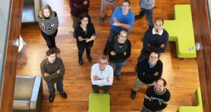 The Connect Centre research team, led by Prof Luis Da Silva, which will take part in the €5m Orca project.