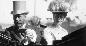 King George V and Queen Mary in Dublin. Photograph: Topical Press Agency/Getty Images