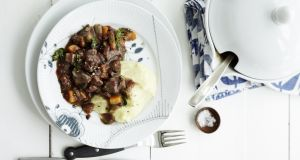 Venison stew: the tougher meat (such as the haunch) can be stewed in the same way as lamb or mutton