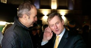 Taoiseach Enda Kenny and Fianna Fáil leader Micheál Martin. Despite the stresses and strains of party politics, Fine Gael and Fianna Fáil have managed to stick with their agreed confidence and supply arrangement. Photograph: Maxpix