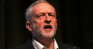 Jeremy Corbyn's call for a wage ceiling is an echo of a Swiss vote in 2013 to limit the pay of top executives to 12 times the wages of their lowliest employees.  Photograph: Neil Hall/Reuters