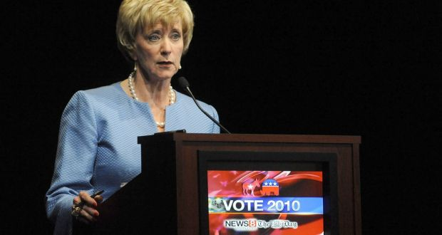 Linda McMahon was a failed Republican candidate for the US Senate in 2010 and 2012. Photograph: Abigail Pheiffer-Pool/Getty Images.