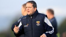 The presence of Davy Fitzgerald on the sideline for Wexford helped bring out a big crowd in Gorey, where UCD were the visitors. Photograph: Donall Farmer/Inpho