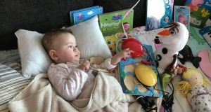 Nellie Lannen was diagnosed with SMA1 when she was seven months old.