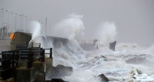 The UK is being hit by the same weather system as the State in the coming week. Photograph: Peter Byrne/PA Wire