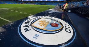 Manchester City have been charged by the FA in relation to anti-doping rules. Photograph: Peter Powell/EPA