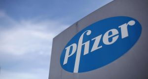 Pfizer said the cost of funding non-contributory defined-benefit pension schemes in Ireland had risen by more than 1,000 per cent since 2009. Photograph: Dan Kitwood/PA Wire