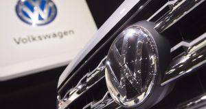 VW would have faced higher fines if it hadn't agreed to spend an estimated $11 billion to address consumer vehicles. Photograph: Saul Loeb/AFP/Getty Images