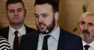 SDLP leader Colm Eastwood has said he would support British-Irish rule in the North if a new Executive cannot be formed. File photograph: Charles McQuillan/Getty Images