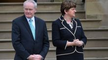 Has Arlene Foster forfeited a place in history  by being too inflexible, showing a lack of grace? Photograph: Colm Lenaghan/Pacemaker