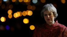 Theresa May: So far the British prime minister has been unable to decide or communicate what kind of post-Brexit relationship Britain should have with the EU. Photograph: Reuters/Stefan Wermuth