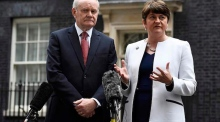 Arlene Foster: 'Sinn Féin's actions are not principled, they are political'