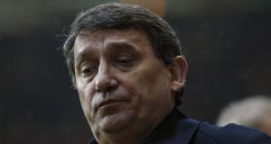 Graham Taylor – in a photograph taken in 2002, when he was manager of Aston Villa. Photograph: Shaun Botterill/Getty Images