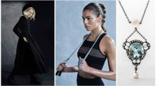 Fitness wear, design to flatter and jewellery gems