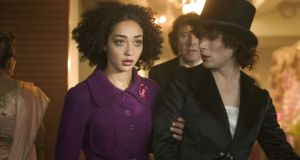 "Charlie (Ruth Negga) and Kitten (Cillian Murphy) with Bertie (Stephen Rea) in the  background in ""Breakfast on Pluto"": Neil Jordan's 2005 film was one of her early film roles"