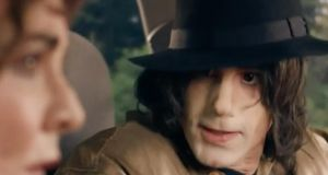 Joseph Fiennes playing Michael Jackson in a new Sky Arts show, Urban Myths