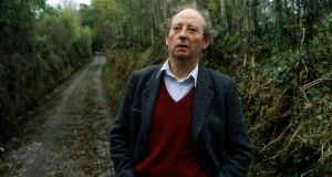 "John McGahern: ""In Richard Robinson's view, McGahern was 'a profoundly literary writer' whose non-showy style may well have been a 'tactical concealment'."" Photograph: Frank Miller"
