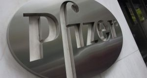Up to 50 workers recruited for Pfizer's Ringaskiddy plant in Cork since 2014 have found themselves impacted by the ongoing dispute over pension entitlements. Photograph: Don Emmert/AFP/Getty Images