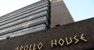Apollo House is over but Home Sweet Home says it will continue. Photograph: Dara Mac Dónaill