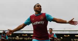 West Ham United's French midfielder Dimitri Payet: has refused  to play for the club again. Photograph: AFP Photo