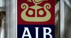 AIB is still nine levels below S&P's top rating. Photograph: Reuters