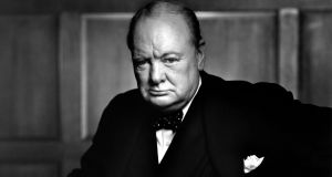 "Winston Churchill: ""I hope to see a Europe where men and women of every country will think of being European as of belonging to their native land."" Photograph: Yousuf Karsh"