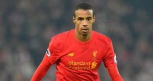 Liverpool have withdrawn Joel Matip from the squad for their match against Manchester United at Old Trafford. Photograph: PA