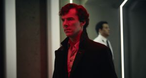 The blow-out episode of Sherlock is an awkward attempt to adapt every conceivable film genre, as though seduced by the aura of its stars' careers. Photograph: Robert Viglasky