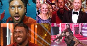 A spray too far: Hughie Maughan on Dancing with the Stars. Photographs: RTÉ, Hughie Maughan