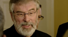Gerry Adams: 'We need to move into an election'