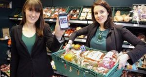 FoodCloud co-founders Iseult Ward and Aoibheann O'Brien