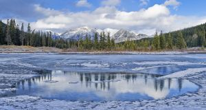 The Palliser Range in the Canadian Rockies. Photograph: Michael Wheatley/All Canada via Getty