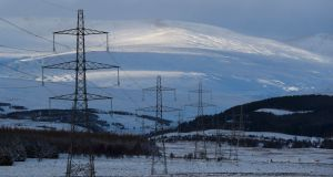 The cold is set to push French electricity demand to near record levels this week. Photograph: Reuters/Russell Cheyne